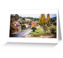 Hill End Greeting Card