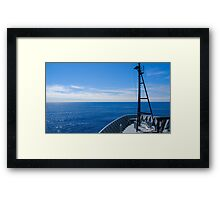 The North Pacific Framed Print