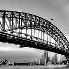 The Bridge - A Study in Black and White #3- The HDR Experience by Philip Johnson