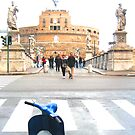 Vatican&#x27;s vespa by Jouer