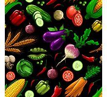 Veggiephile - Veggies Photographic Print