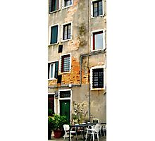 Venice - secret windows Photographic Print