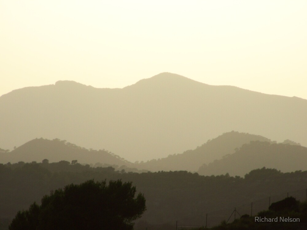 Distant Hills by Richard Nelson