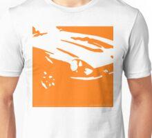 Datsun 240Z Detail - Orange on white Unisex T-Shirt