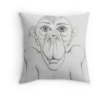 Pigman Throw Pillow