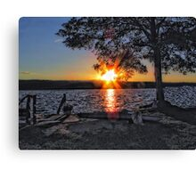 The Sound Of Pulling Heaven Down Canvas Print
