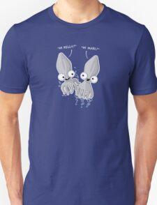 'Calamari' T-shirt Design with placement for Women's Tee Unisex T-Shirt