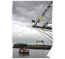 Viewing the Tall Ships Poster