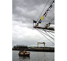 Viewing the Tall Ships Photographic Print