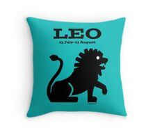 Signs of the Zodiac:   LEO Throw Pillow