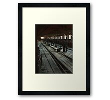 Consigned to Hell Framed Print