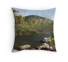 Lake Osborne shoreline Throw Pillow