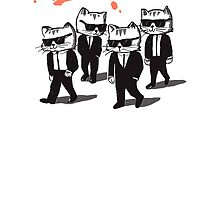 Reservoir cats by Gloopz