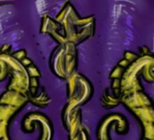 Mermaid Crest Sticker