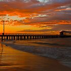 Queenscliff Pier Sunrise by Neil