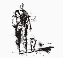 Mad Ghandi by Luke Stevens