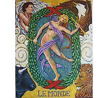 Le Monde Photographic Print