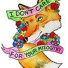 Feminist Fox v2 by tamaghosti
