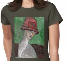 Art Deco Mannequin Womens Fitted T-Shirt