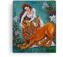 La Force Canvas Print