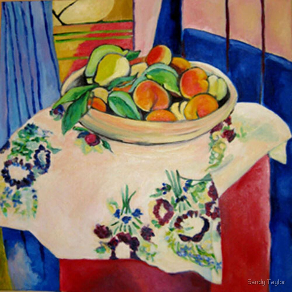 Admiring Matisse by Sandy Taylor