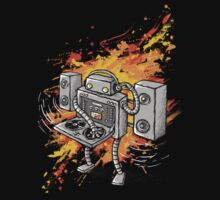 Robot DJ is in the House! Baby Tee