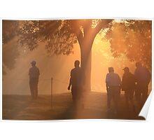 Sunrise at Hazeltine Poster