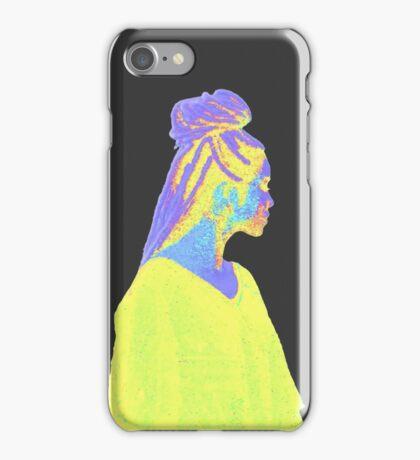 Jhene Colorful Fuzz iPhone Case/Skin