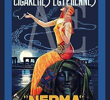 NERMA  cigarette ad  by 4detroit