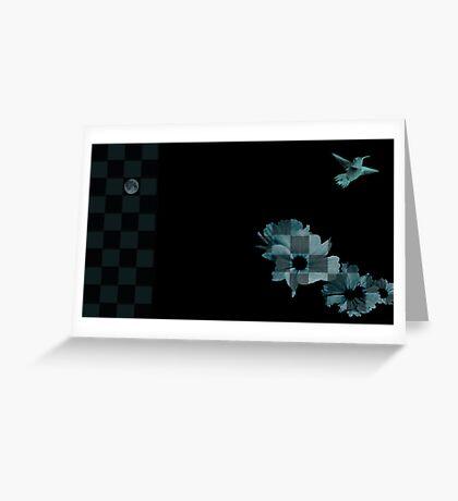 Moonshadow Greeting Card
