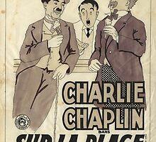 Charlie Chaplin by Wilma van Boxtel