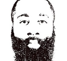 James Harden by silverbrush
