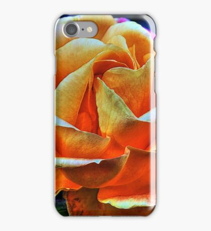 HDR flower iPhone Case/Skin
