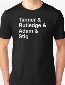 Top Gear USA Band Tribute T-Shirt