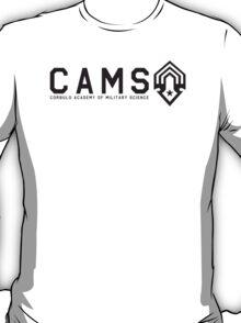 CAMS Dark Logo and Name T-Shirt