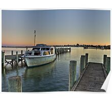 HDR,Goolwa,South Australia Poster