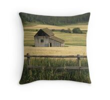 Rustic Haven Throw Pillow