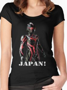 JAPAN! Women's Fitted Scoop T-Shirt