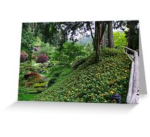 Sunken Garden No.4 Greeting Card