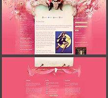 Angi in Wonderland (Web design) by AngiandSilas