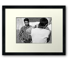 Photo Click Framed Print