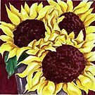Sunflowers by Sandy Taylor