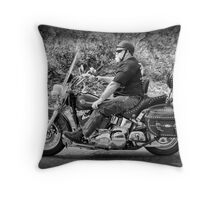 Rider Throw Pillow