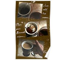 Instant Coffee Poster