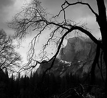 B/W Half Dome by Mark Ramstead