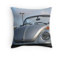 Silver Saturation Throw Pillow