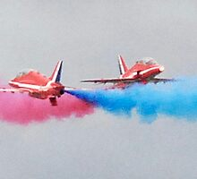 Crossing point (The Red Arrows) by Gary Heald LRPS