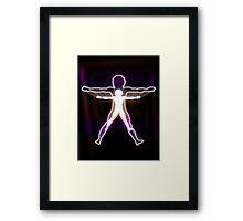 Venusian Man Framed Print