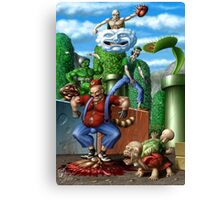 Mario and Friends Canvas Print