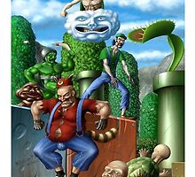 Mario and Friends by Lutubert